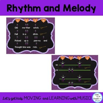 """Halloween Music Lesson: """"Old Mother Witch"""" Song & Game"""