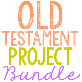 OLD TESTAMENT Brochure Projects BUNDLE
