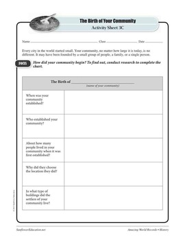 OLDEST CITY: DAMASCUS—History Worksheets and Activities
