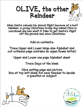 OLIVE, the other REINDEER. BOOK UNIT ADD ON