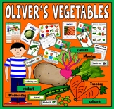 OLIVER'S VEGETABLES STORY RESOURCES EYFS KS1 ENGLISH FOOD HEALTHY EATING