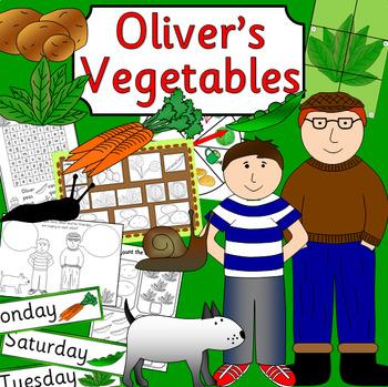 OLIVER'S VEGETABLES book study - growing