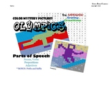 OLYMPICS: Mystery Color Parts of Speech
