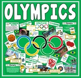 OLYMPICS TEACHING RESOURCES DISPLAY SPORTS GEOGRAPHY RIO 2016 PE KS1-2