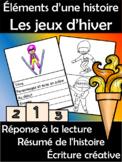 JEUX D'HIVER - Les éléments d'une histoire (FRENCH FSL)
