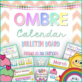 Calendar Bulletin Board OMBRE