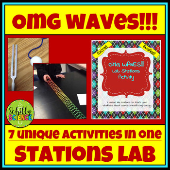 Waves Lab - OMG WAVES! Lab Stations Activity