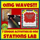 Waves Lab - Transverse, Longitudinal, ENERGY