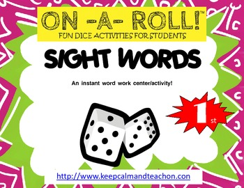 ON-A-ROLL! Sight Words (1st grade)