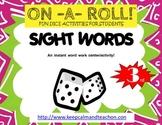 ON-A-ROLL! Sight Words (3rd grade)