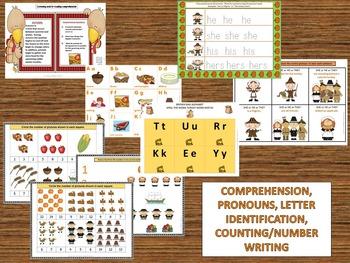 Thanksgiving: A Bountiful Speech, Language & Literacy Unit-Pre-K to 3rd Grade