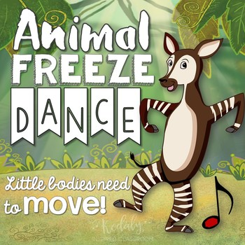 Animal Freeze Dance (Brain Break and Movement Exploration)
