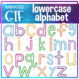 Animated GIF Lowercase Alphabet for Letter Formation