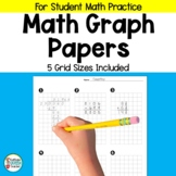 Graph Paper Organization Grids for Math Students