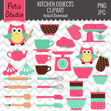Kitchen Clipart // Cooking Clipart // Chef Clipart- Objects112