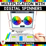 Multiplication Activities with Digital Spinners (Distance