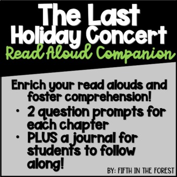 The Last Holiday Concert Read Aloud Companion