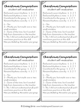 Whole Year Rhythm Composition - Pages, Lesson Plans & Rubrics