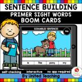 Sentence Building (Primer Sight Words) (Distance Learning)