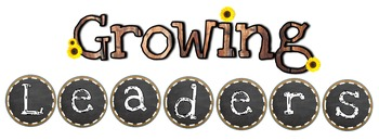 "ON THE FARM Classroom Theme ""GROWING LEADERS"" Letter Cutouts"