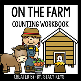 ON THE FARM Counting Workbook