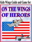 ON THE WINGS OF HEROES by Richard Peck with Guide, Game, Interactive Final Quiz