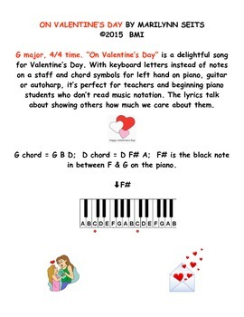 ON VALENTINE'S DAY - a song about caring & sharing on Valentine's Day