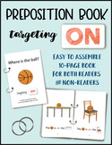 ON (a preposition book) - Speech/Language Therapy