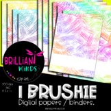 ONE BRUSHIE DIGITAL PAPERS/BINDERS