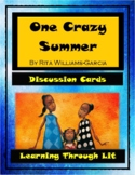 ONE CRAZY SUMMER Rita Williams-Garcia - Discussion Cards PRINTABLE & SHAREABLE