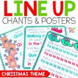 Line Up Chants