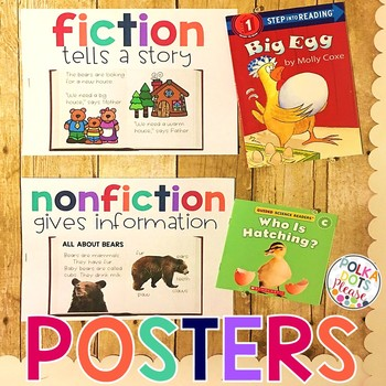 ONE DAY FREEBIE Fiction and Nonfiction Posters