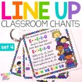Line Up Chants  Set 4