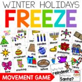 Winter Holiday Symbols FREEZE