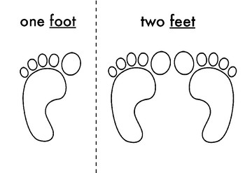 ONE FOOT, TWO FEET