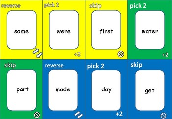 ONE!   FRY WORDS - FIRST 100  (set 1)
