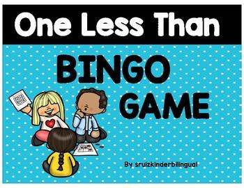 ONE LESS THAN ~ BINGO GAME~
