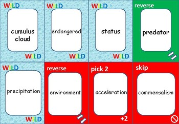 ONE!  Learn how to read SCIENCE WORDS  -   VOCABULARY REVIEW
