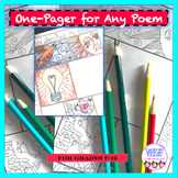 ONE-PAGER FOR ANY POEM!
