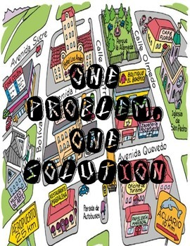 ONE PROBLEM, ONE SOLUTION- un problema, una solucion