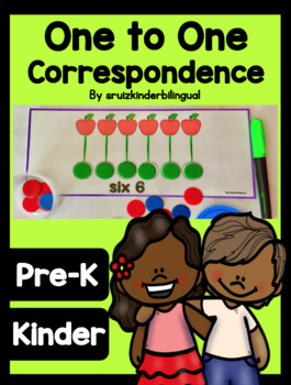 ONE-TO-ONE CORRESPONDENCE Pre-K and Kindergarten