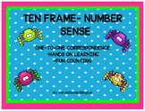 ONE-TO-ONE CORRESPONDENCE USING TEN FRAMES