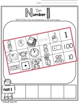 ONE-TO-ONE Correspondence (Number Sense; Numbers 0-20)