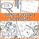 DOUBLES FACTS ACTIVITIES AND WORKSHEETS