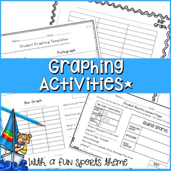 ONE WEEK COMPLETE COMPETITIVE SPORTS GRAPHING UNIT