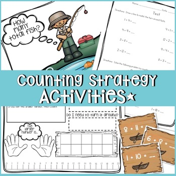 COUNTING ON AND BACK TO ADD AND SUBTRACT WORKSHEETS, ACTIVITIES, LESSON PLANS