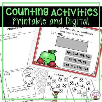 Counting To 50 Worksheets Teaching Resources Teachers Pay Teachers