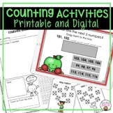 READING, WRITING, AND COUNTING TO 120 WORKSHEETS, ACTIVITIES, AND LESSON PLANS