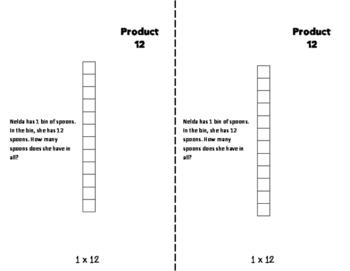 ONES Multiplication Fact Fluency Flip Book: Grades 3-5