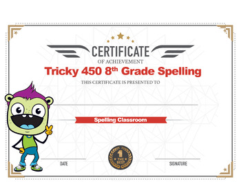 FREE ONLINE 8th Grade Spelling & Vocabulary | 30 Weeks-Daily Lessons Games Tests